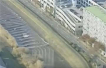 Japón: Tsunami invierte caudal de un río