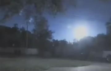 Florida: Aparece brillante bola de fuego en el cielo