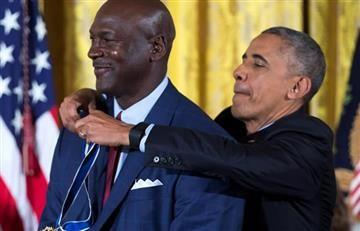 Michael Jordan recibe Medalla de Libertad de Obama