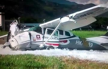 Saldo fatal tras accidente aéreo en Villavicencio