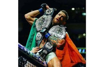 Conor McGregor de la UFC a la WWE