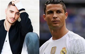 Cristiano Ronaldo entrena al ritmo de Maluma
