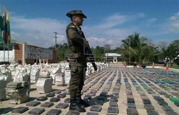 Autoridades incautan dos toneladas de cocaína en Barranquilla