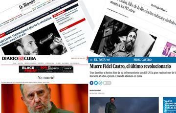 Fidel Castro: Así registraron su muerte los medios