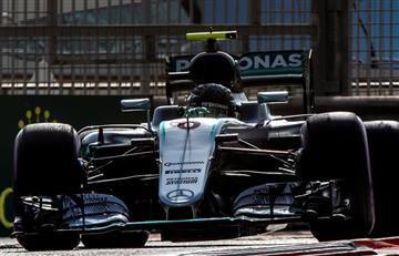 Fórmula 1: Hamilton gana la pole y Rosberg, el segundo lugar
