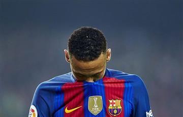 Neymar estrelló así su Ferrari