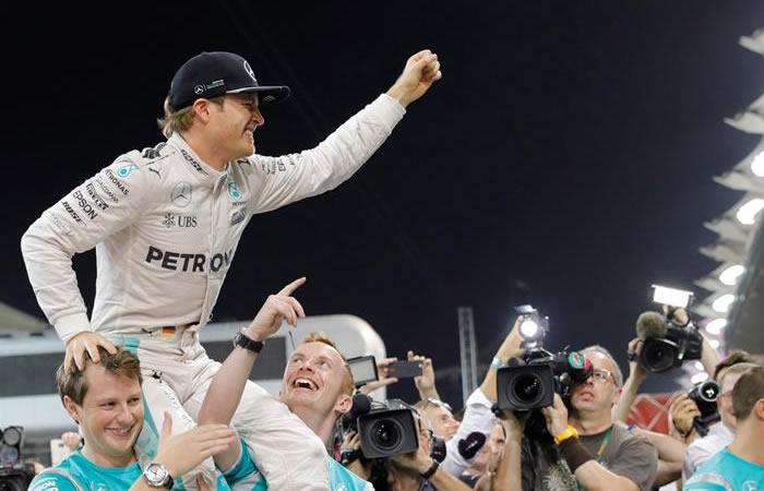 Nico Rosberg, campeón de la fórmula uno