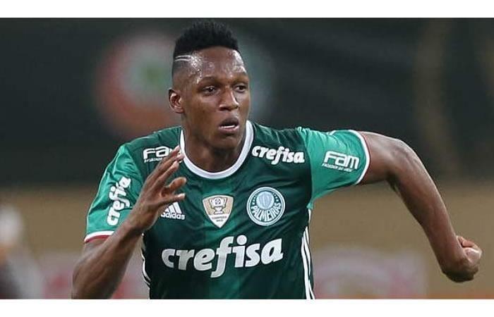 Yerry Mina consigue un tremendo hecho histórico con el Palmeiras