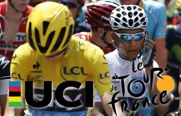El 'tatequito' de la UCI al Tour de Francia