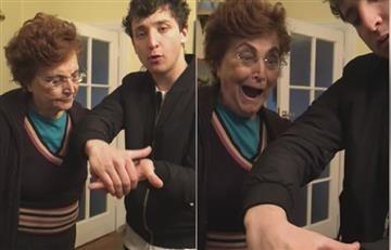 Facebook: Youtuber le hace divertidas bromas a su abuela