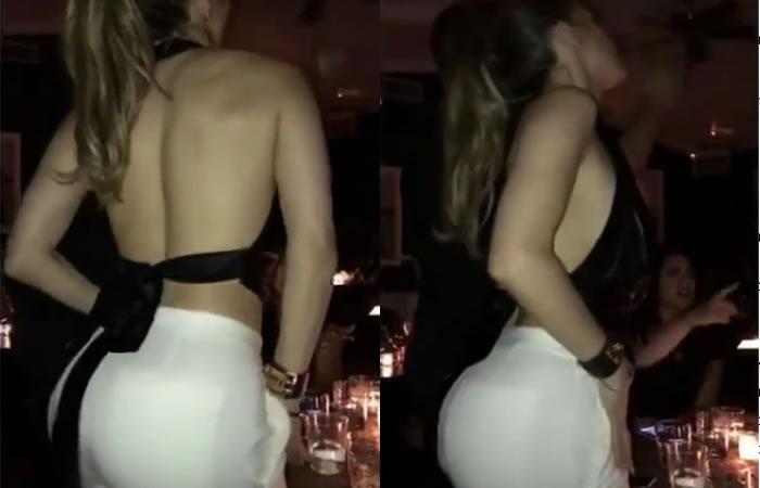Jlo cautiva con su sensual baile de caderas. Foto: Instagram
