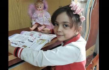 Twitter: Niña Siria describe los bombardeos de Alepo