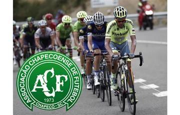Chapecoense: El ciclismo se solidariza con la tragedia