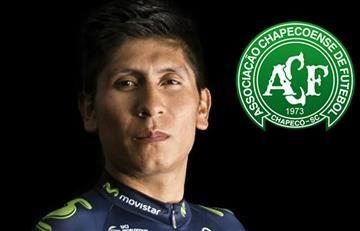 Chapecoense: Nairo Quintana envía este mensaje de apoyo
