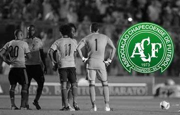 Chapecoense: Selección Colombia rinde homenaje al club brasileño