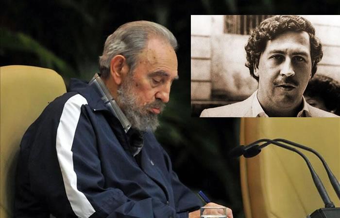 Fidel Castro y su relación con Pablo Escobar