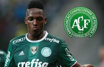 Palmeiras solicitó jugar con la camiseta del Chapecoense