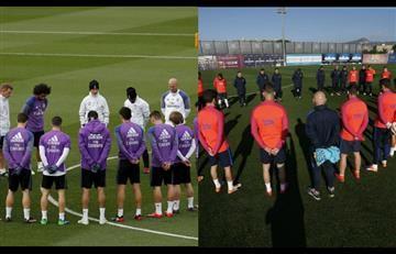 Real Madrid y el Barcelona rinden homenaje al Chapecoense