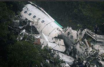 Chapecoense: Revelan audio de la caja negra del avión