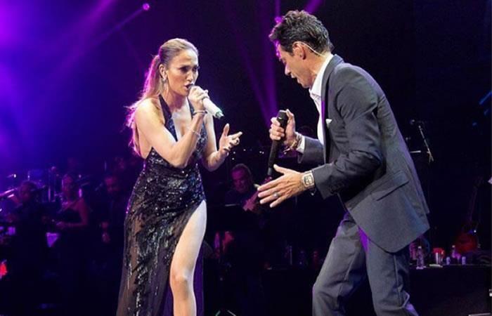 Jennifer Lopez y Marc Anthony presentan versión salsa de 'Olvídame y pega la vuelta'