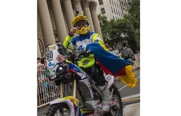 La indiferencia del Estado ante este deportista colombiano