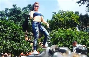 Botero: Epa Colombia se quita la ropa en estatua