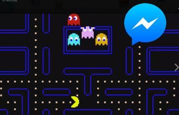 Facebook Messenger ahora tiene 'Pac-Man'