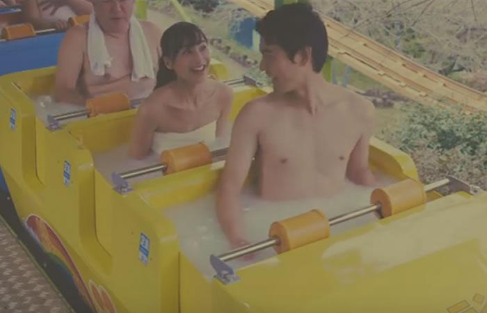 Japón tendrá una montaña rusa con spa incluido
