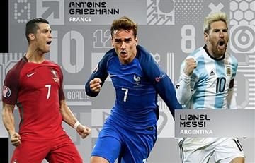 The Best: Cristiano, Messi y Griezman; candidatos a ganar el premio