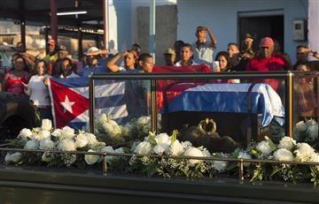 Fidel Castro ya descansa en Santiago de Cuba