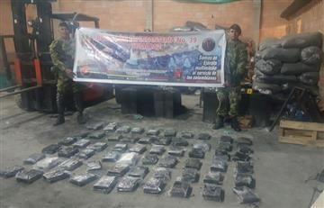 Fiscalía incauta dos toneladas de cocaína en Sibaté
