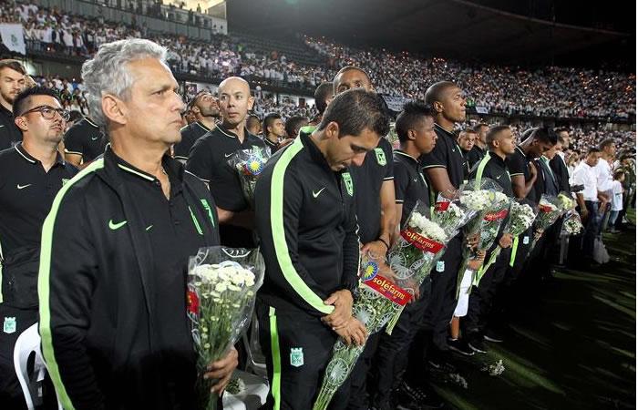 Atlético Nacional recibirá esta millonaria cifra por homenaje a Chapecoense