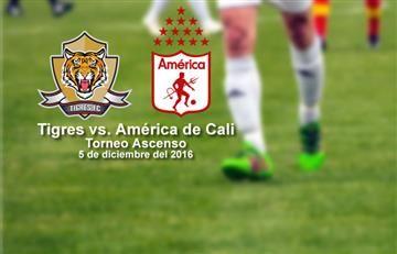 Tigres vs. América de Cali (EN VIVO)