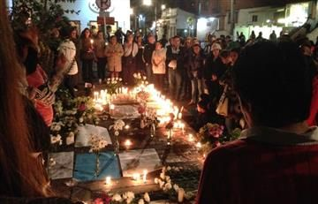 Bogotá: Multitudes pidieron justicia por niña muerta
