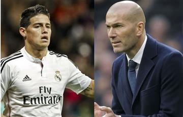 ¿James Rodríguez se va del Real Madrid?: responde Zidane