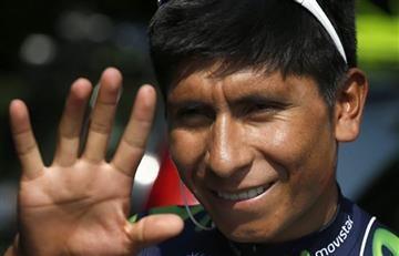Nairo Quintana y el vídeo con el que quiere ayudar a los niños