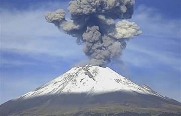 Popocatépetl: OVNI es visto sobre volcán