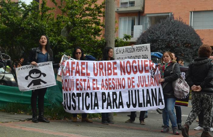 Rafael Uribe Noguera: Así fue el traslado a los juzgados de Paloquemao