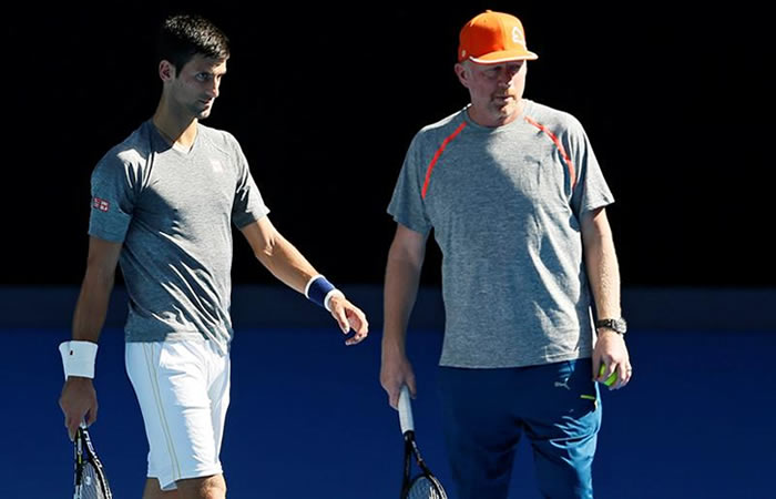 Djokovic no entrenará más con Boris Becker