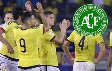 Selección Colombia tendrá un grandioso gesto con Chapecoense