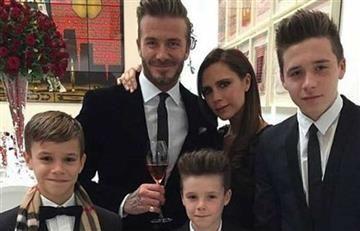 Hijo de David y Victoria Beckham lanza canción navideña