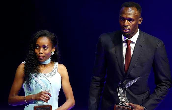 Usain Bolt y Almaz Ayana atletas mundiales del 2016