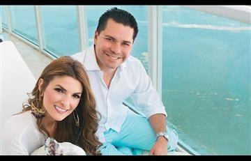 Luis Carlos Vélez y Siad Char celebran la llegada de su hija
