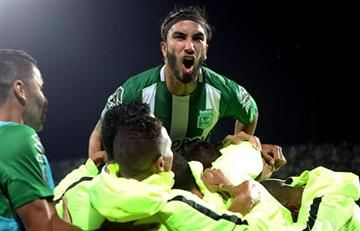 Sebastián Pérez no se olvida de Atlético Nacional