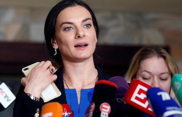 Yelena Isinbáyeva dirigirá la agencia antidopaje rusa
