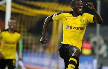 Adrián Ramos, pase gol y figura del Borussia Dortmund