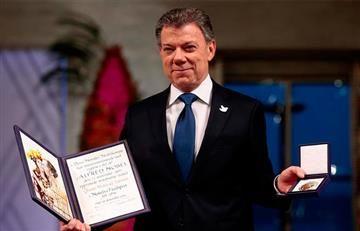 Juan Manuel Santos recibió el Premio Nobel de Paz