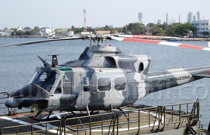 Hallan cinco sobrevivientes del helicóptero accidentado en el Caribe