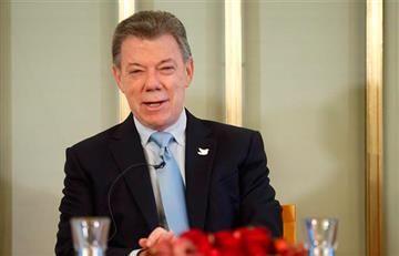 Santos recibe el Nobel por sus esfuerzos para alcanzar la paz