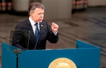Santos resalta que los niños son el objetivo principal del proceso de paz